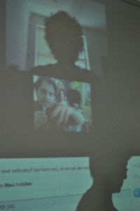 Nina-Felshin,-συζήτηση-με-Νέα-Yόρκη-μέσω-scype,-2011